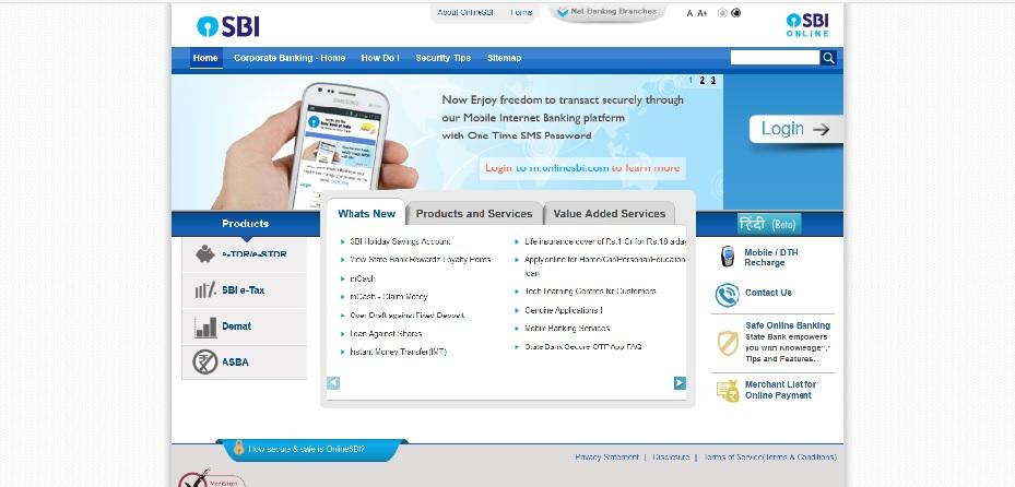 sbi net banking registration 2019