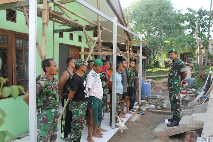 Prajurit TNI Tidak Sombong dan Mudah Bergaul di Lokasi TMMD