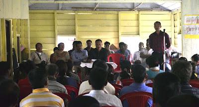 Gorkha Janmukti Morcha meeting in Labdah Division