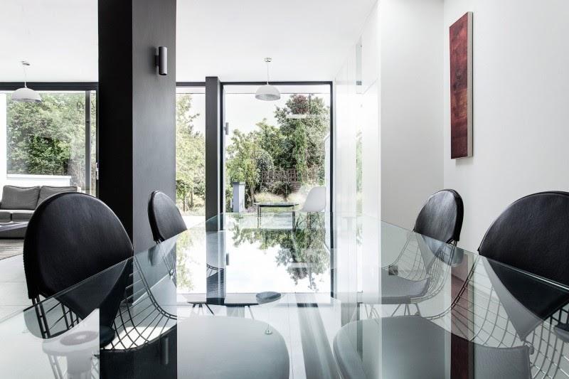 decor casa Arquitetura Moderna Com Interior Elegante