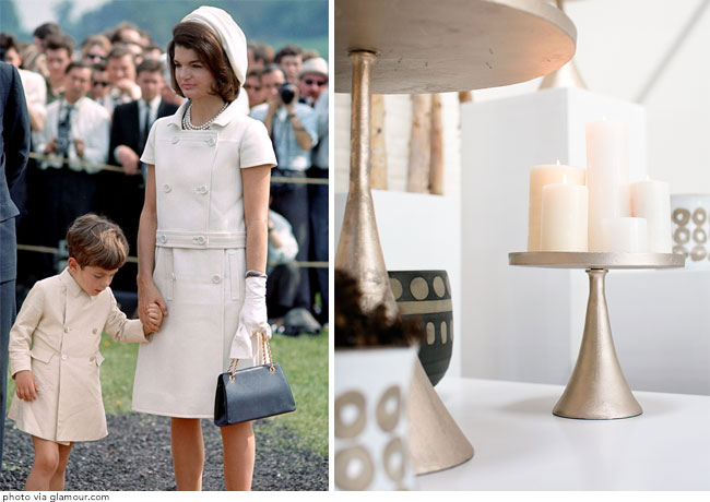 Jackie O inspired home decor from Accent Decor