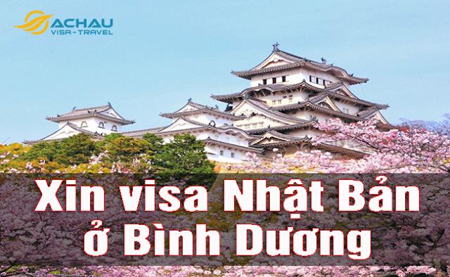 xin visa Nhật Bản ở Bình Dương như thế nào ?