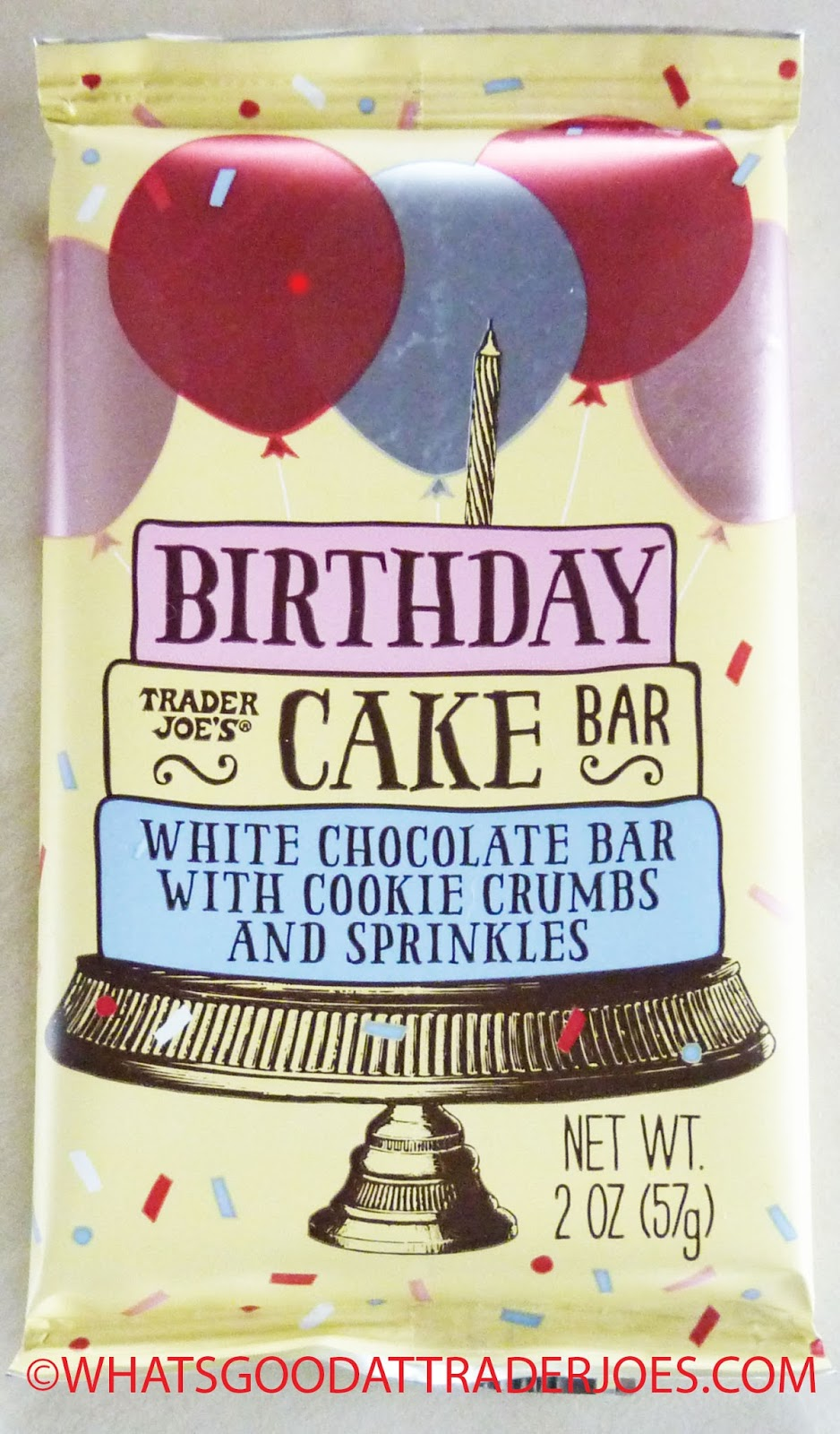 Trader Joes Birthday Cake Bar