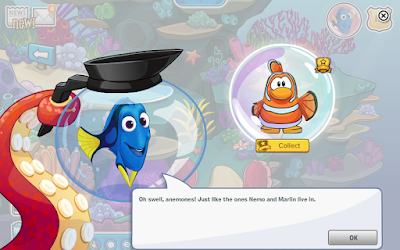 Club Penguin Finding Dory Party Cheats
