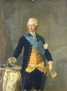 Koning Gustav III van Zweden