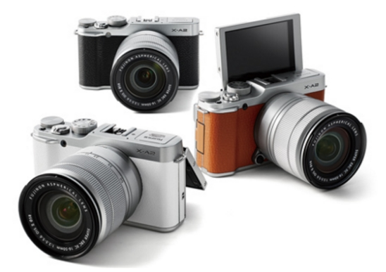 fujifilm xa2 mirrorless kamera