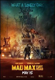 Cartel de Mad Max: furia en la carretera (George Miller, 2015)