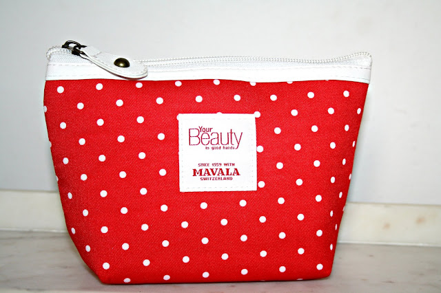 MAVALA'S 60th Birthday Limited Edition Polka Dot Cosmetics Bag