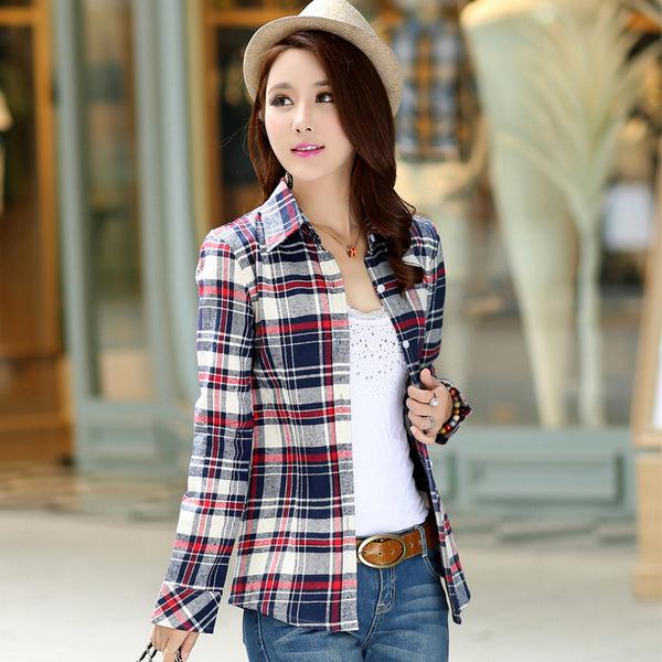 dicas estampas inverno - xadrez com calça jeans