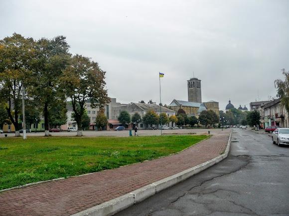 Сокаль. Площадь Сечевых Стрельцов