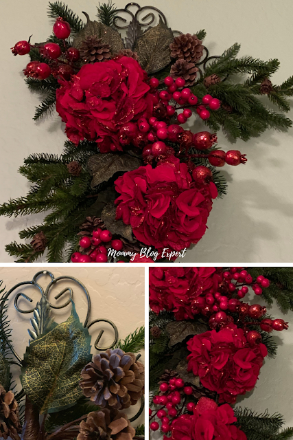 Nearly Natural Faux Christmas Flowers