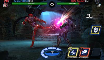 التحكم السيء في لعبة Power Rangers: Legacy Wars