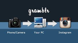 طريقة رفع صور من جهاز الكمبيوتر الى انستقرام