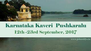 Karnataka Kaveri Pushkaram 2017: Pushkar Ghats, Places, Temples