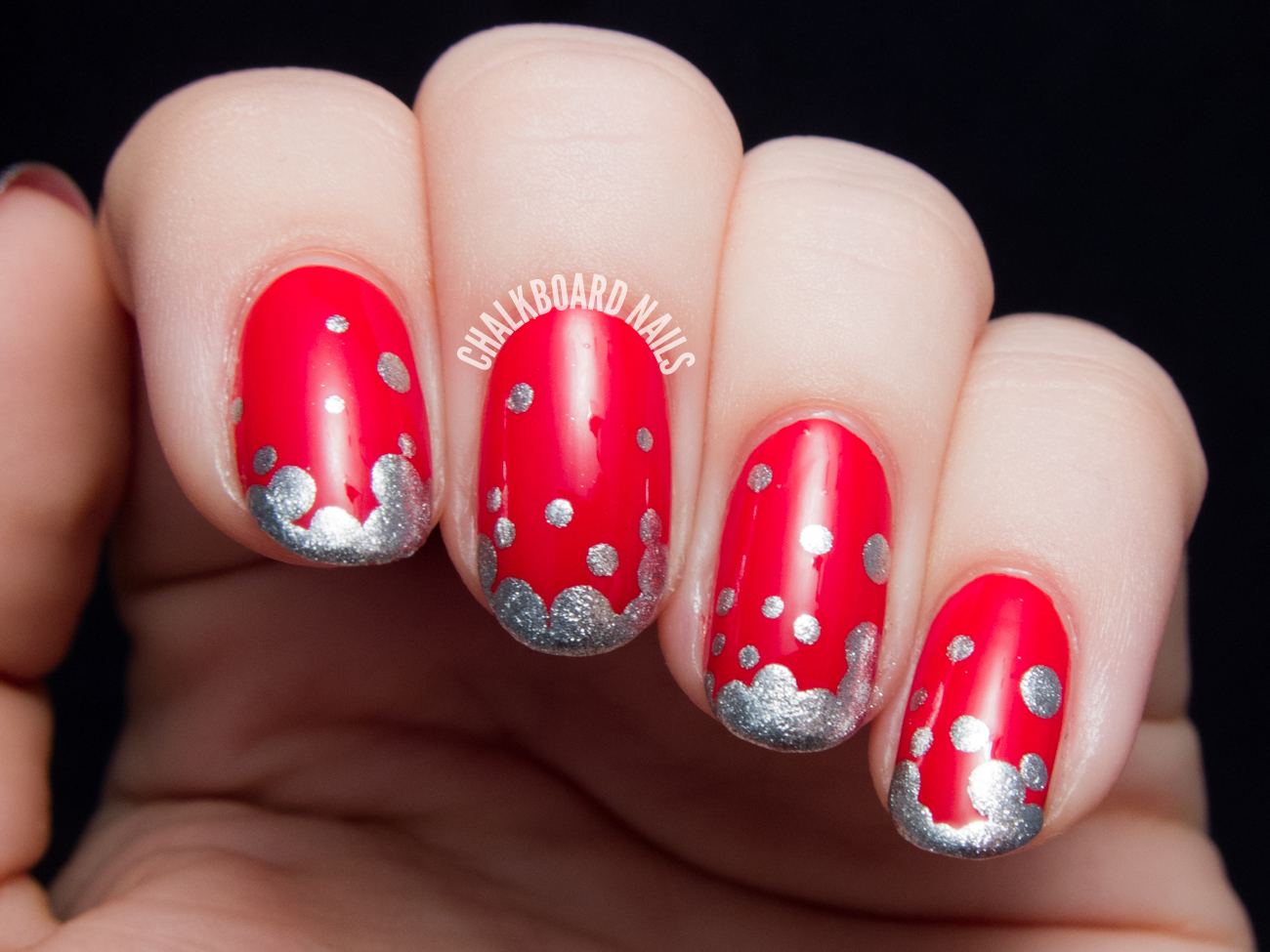 Fizzy French - OPI Coca-Cola Nail Art | Chalkboard Nails ...