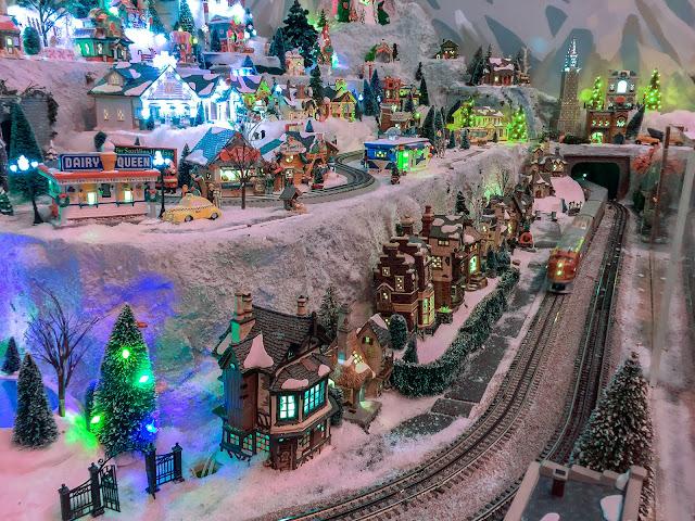 Legacy Station - Christmas Model Train Layout