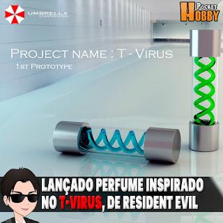 Pocket Hobby - www.pockethobby.com - Perfume T-Virus, de Resident Evil, lançado no Japão