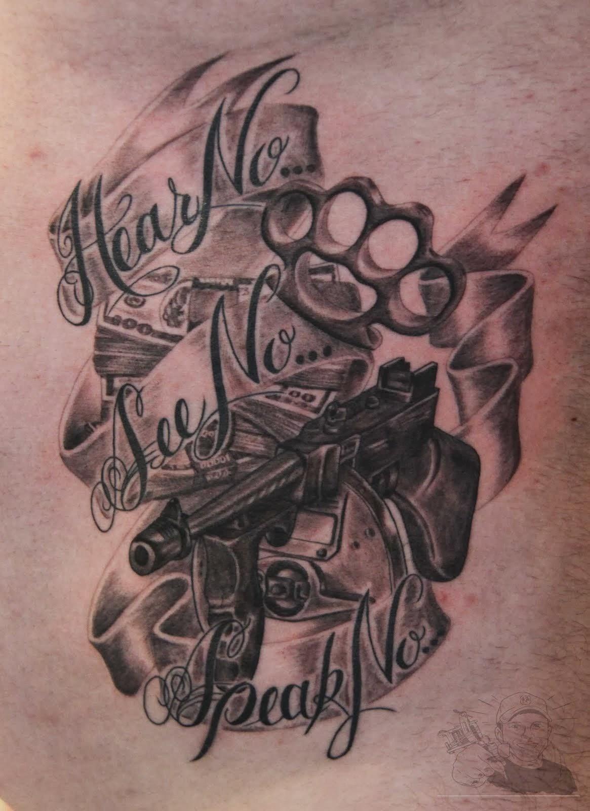 Gangsta Tattoos