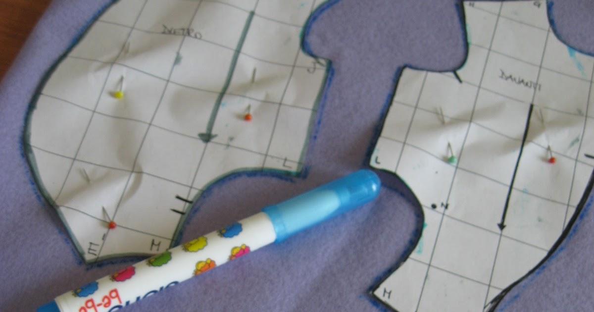 Carta e Cuci  L Orso - Work in progress - Come segnare e tagliare le varie  parti 31490cb26ddc