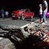 Batida entre carro e motocicleta mata homem na BR-030.