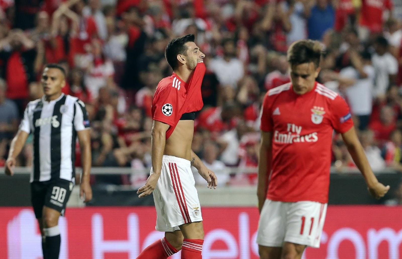 53725d1cc6 Boavista 0 - Benfica 2   Benfica 1 - PAOK 1