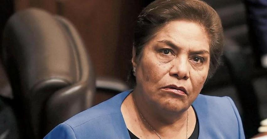 Fujimorista Luz Salgado critica Referéndum para la NO reelección de Congresistas
