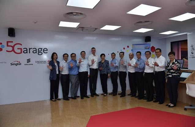Seed Writes    : Singtel, Ericsson and Singapore Polytechnic open
