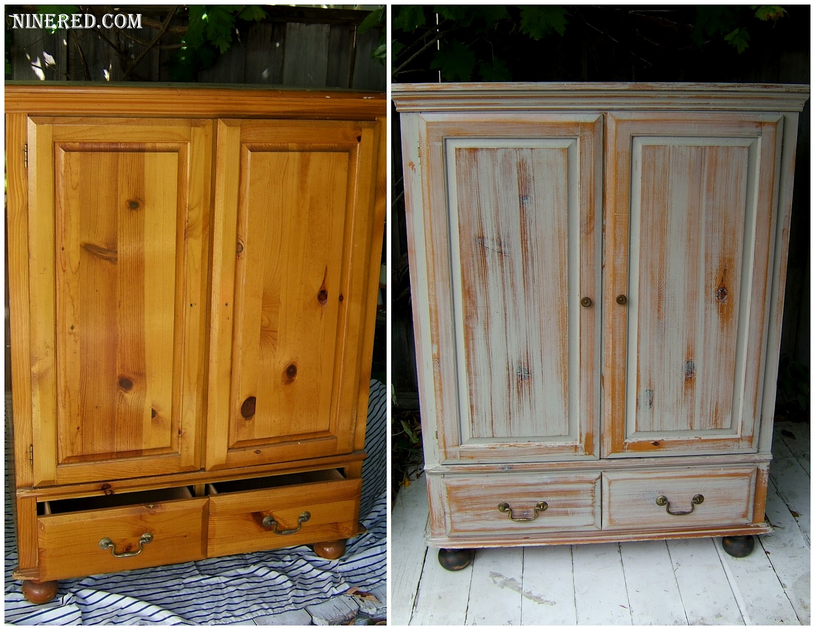 Color Wash Wood Furniture