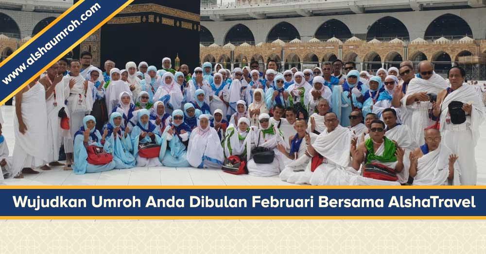 Paket Umroh Februari 2019 - Alsha Tour