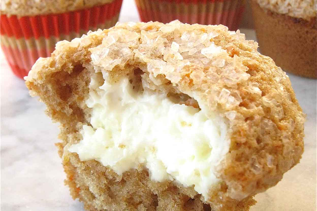 Oat Flour Carrot Cake Muffin Recipes Baking Soda