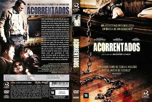 Capa DVD Acorrentados