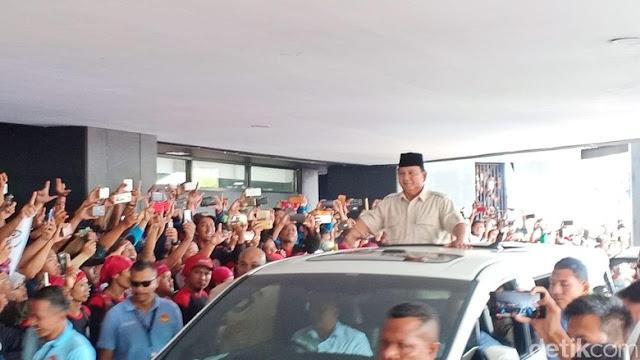 Prabowo ke Media: Kami Catat Kelakuanmu, Kami Bukan Kambing yang Bisa Diatur!