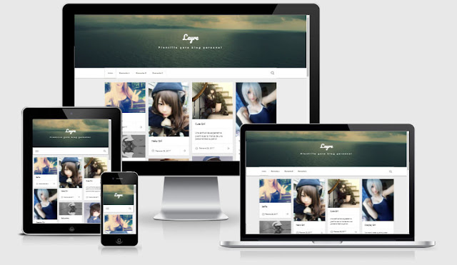 leyre blogger template