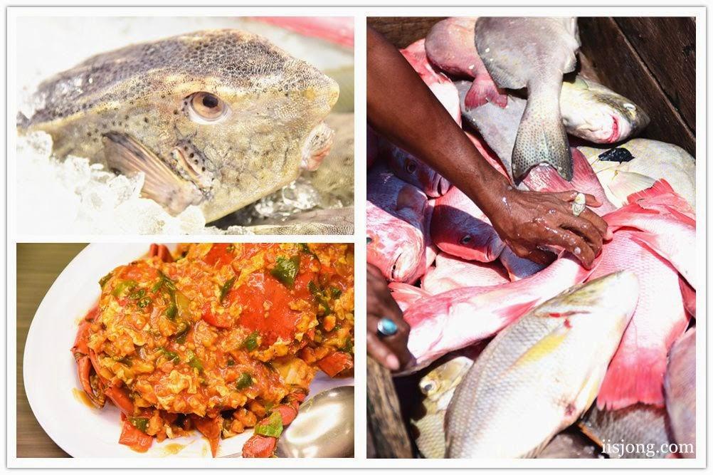 Seafood Makassar Indonesia