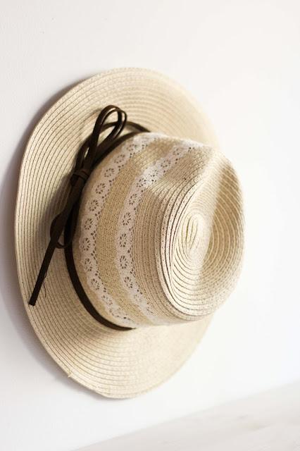 chapeau, chapeau de paille, dentelle, cuir, tendance-chapeau,été