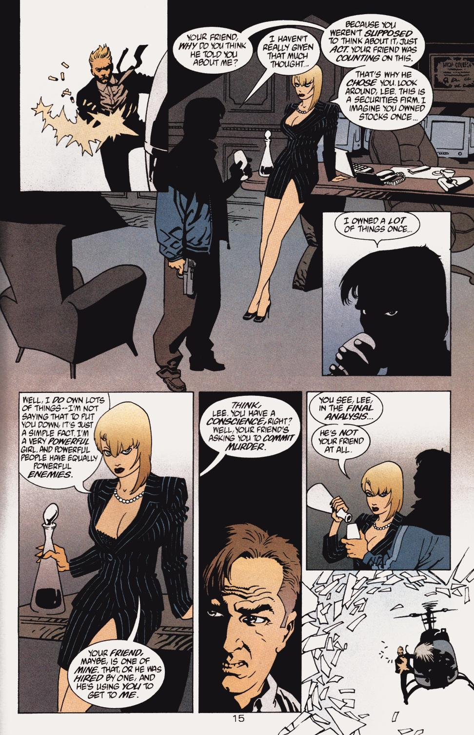 Read online 100 Bullets comic -  Issue #5 - 17