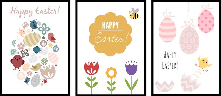 Wielkanocne plakaty do pobrania za darmo