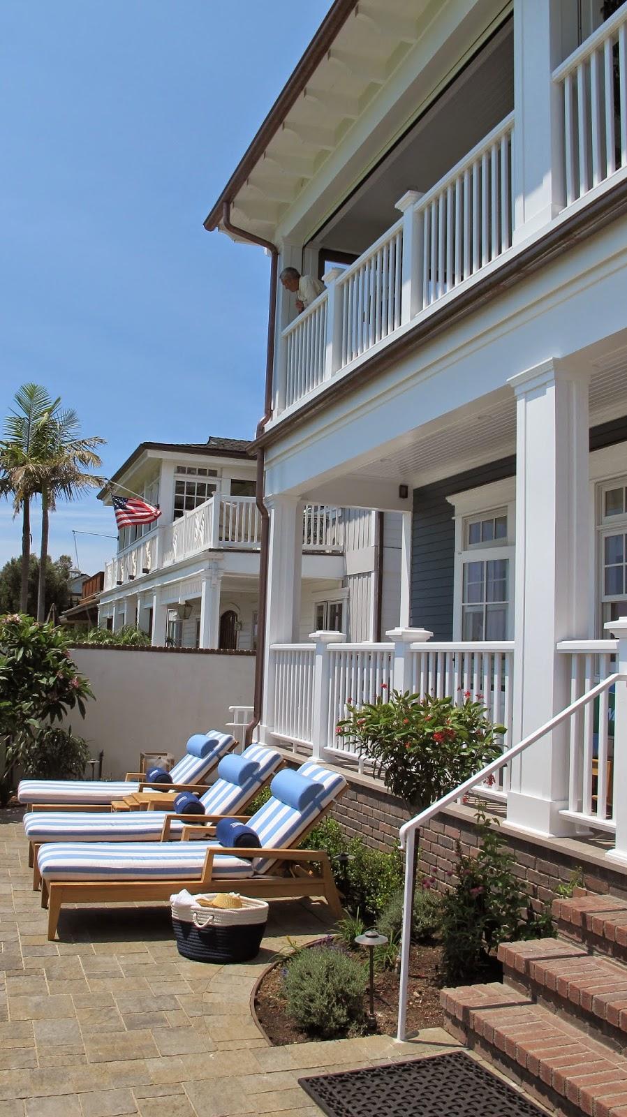 Nautical by Nature: Coastal Living Showhouse: Backyard ...