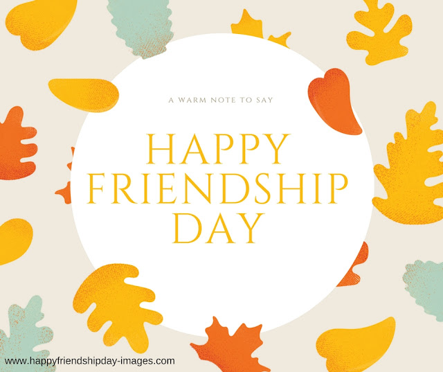 Happy friendship day 2017