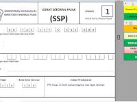 Aplikasi Surat Setoran Pajak (SSP) tahun 2015/2016