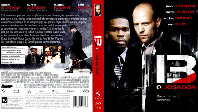Capa Blu-ray 13 O Jogador