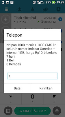 paket indosat murah 1GB 10 ribu only for you