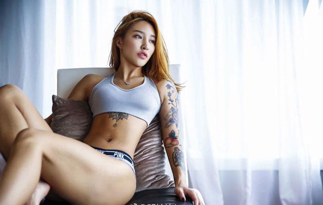 'Mê muội' trước vòng 3 của nữ HLV thể hình người Trung Quốc -8