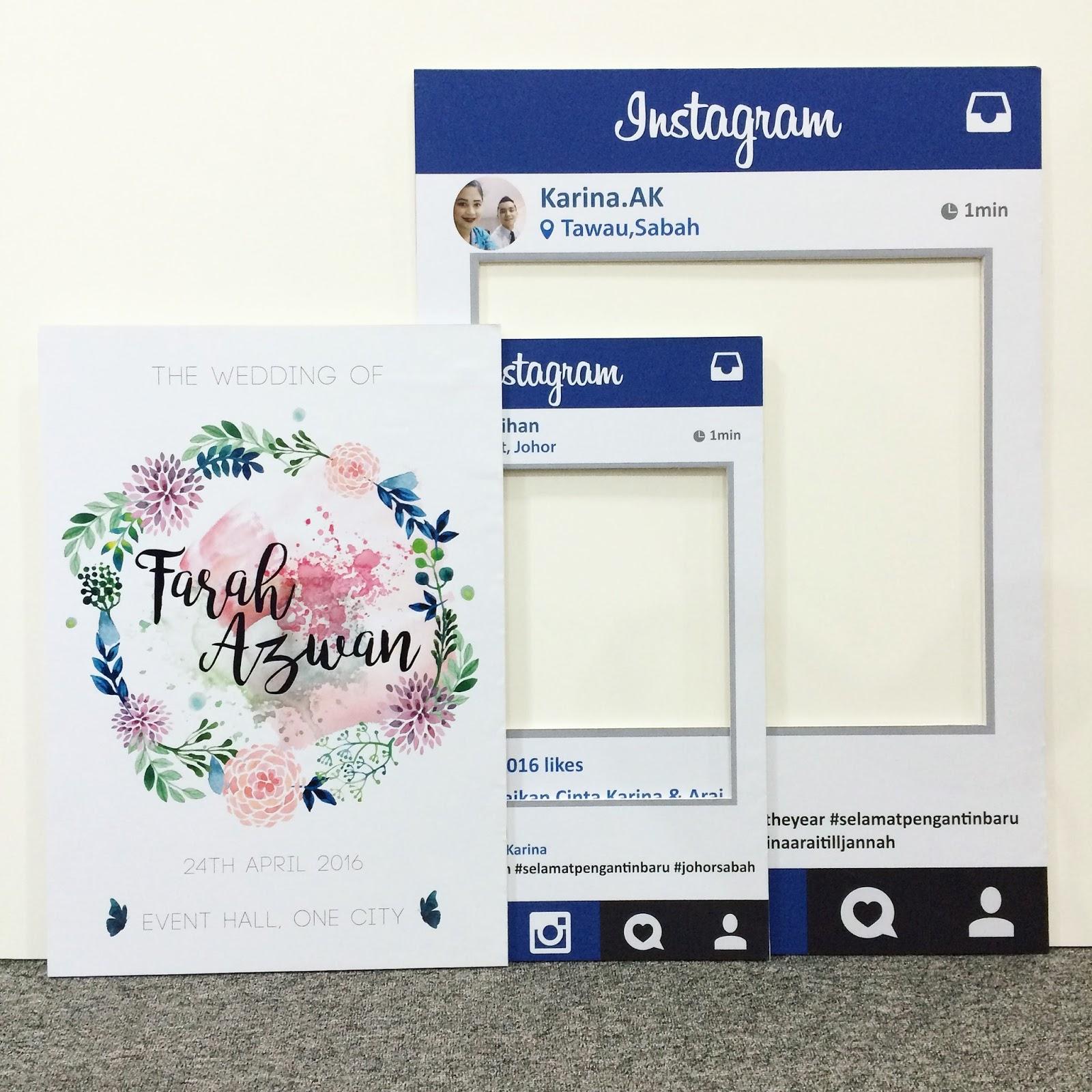Ideasbyfarah: Instagram Frame Props