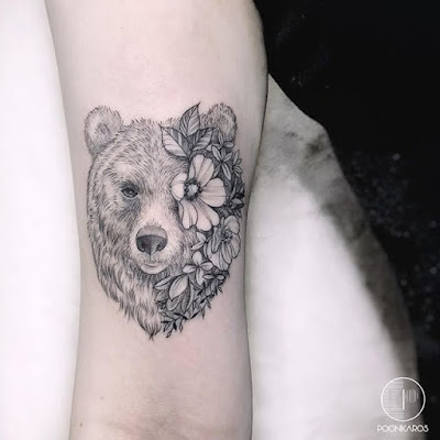 bear head tattoo designs