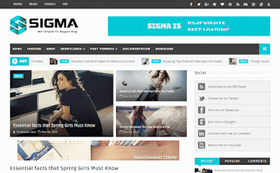Sigma-Responsive-Blogger-Template