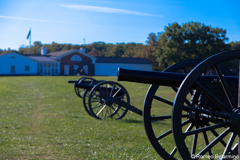 Henry Hill Visitor Center Manassas National Battlefield Park Northern Virginia