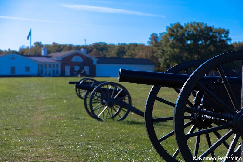 Henry Hill Visitor Center Manassas National Battlefield Park Northern Virginia