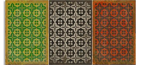 Scarlett Affairs Vintage Vinyl Floor Floorcloths