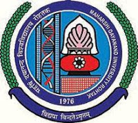 Maharshi Dayanand University Recruitment